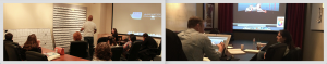 Pictures of instruction at the Animation Collaborative