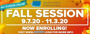 Fall Session Workshops at the Animation Collaborative